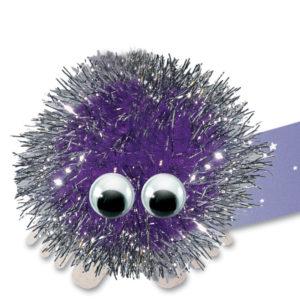 Purple glitter 0353 084