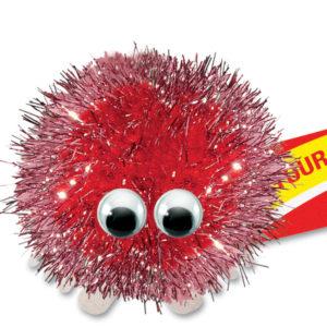 Red Glitter 0353 084